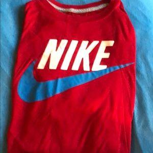 Men's XL red NIKE sportswear T-shirt